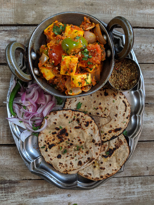 Kadai Paneer Recipe Video