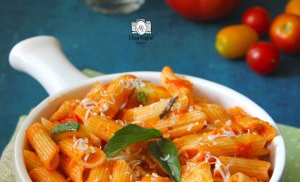 Penne Pasta in Red Sauce Recipe
