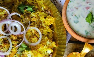 Mint Chicken Biryani Recipe