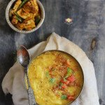 Dal Khichdi Recipe (Indian Style Lentil & Rice Casserole)
