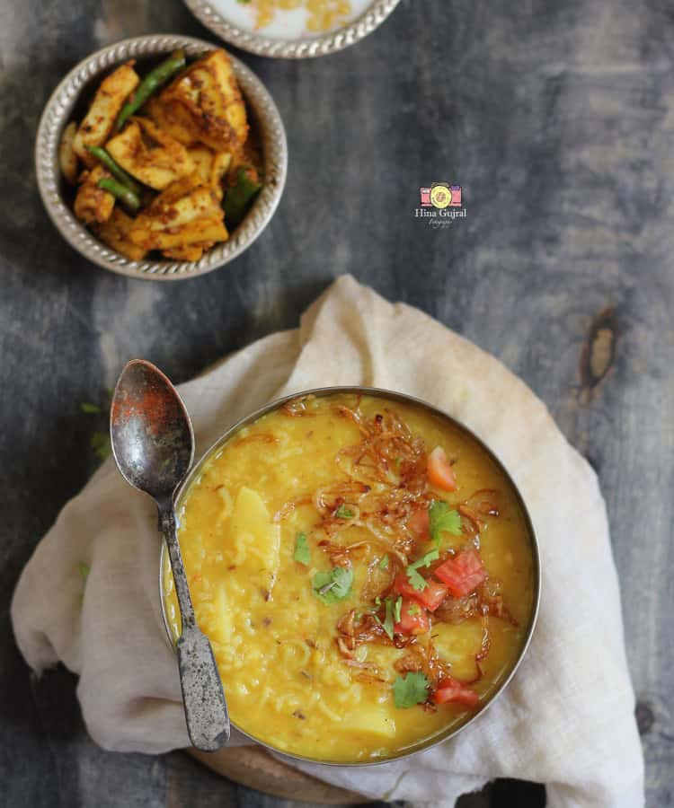 Dal Khichdi Recipe