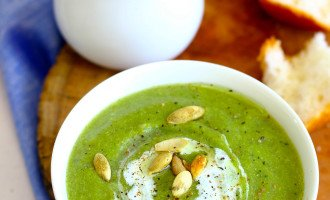 Broccoli and Mushroom Soup