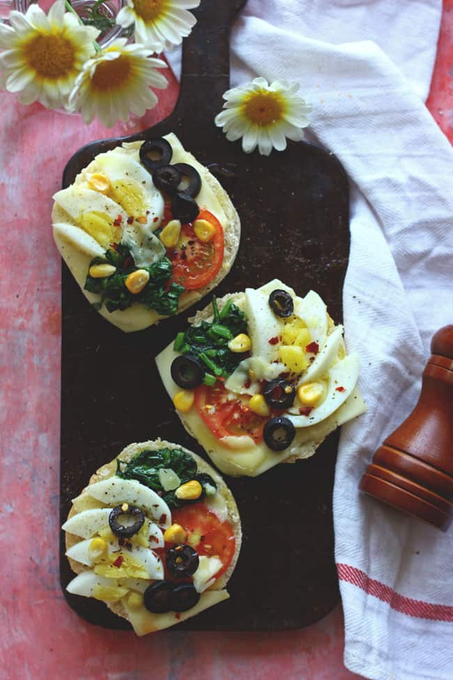 At times, all you need is this delicious, loaded with protein Open-faced Sandwich to start a busy day ahead. Find quick open-faced sandwich recipe