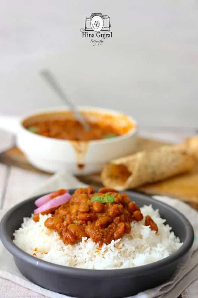 Punjabi Style Rajma Masala