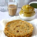 Rice Flour and Carrot Paratha Recipe