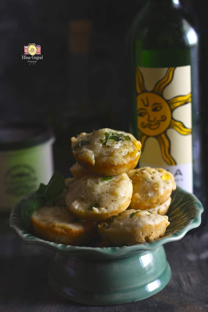 Corn and Cheese Muffins