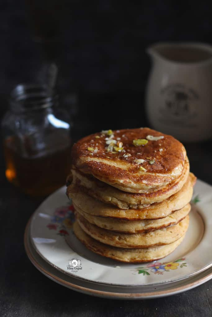 Whole Wheat Buttermilk Pancake Recipe