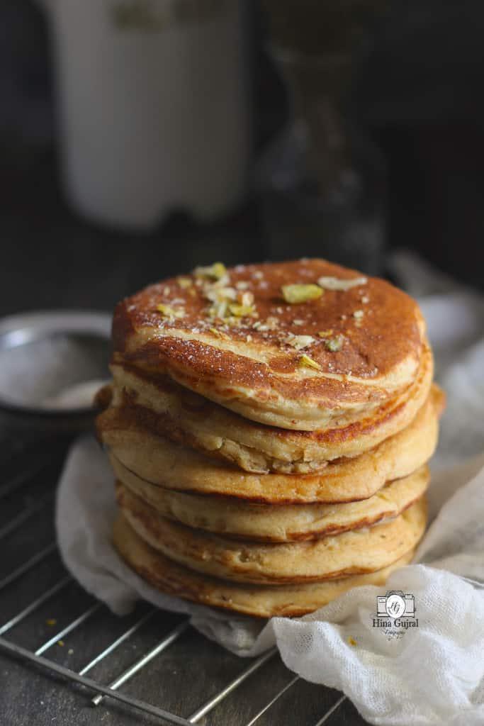 Whole Wheat Buttermilk Pancake Recipe