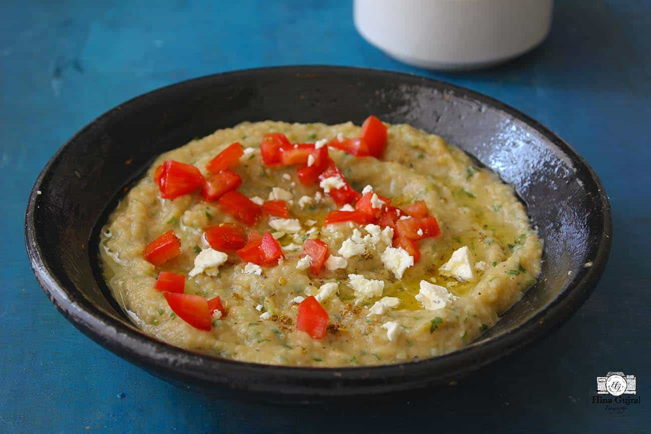 how to make baba ganoush in oven