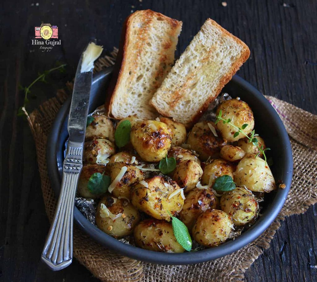 Garlic and Herb Roasted Potato Recipe