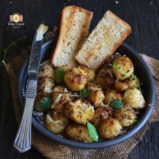 Garlic Herb Roasted Potato Recipe