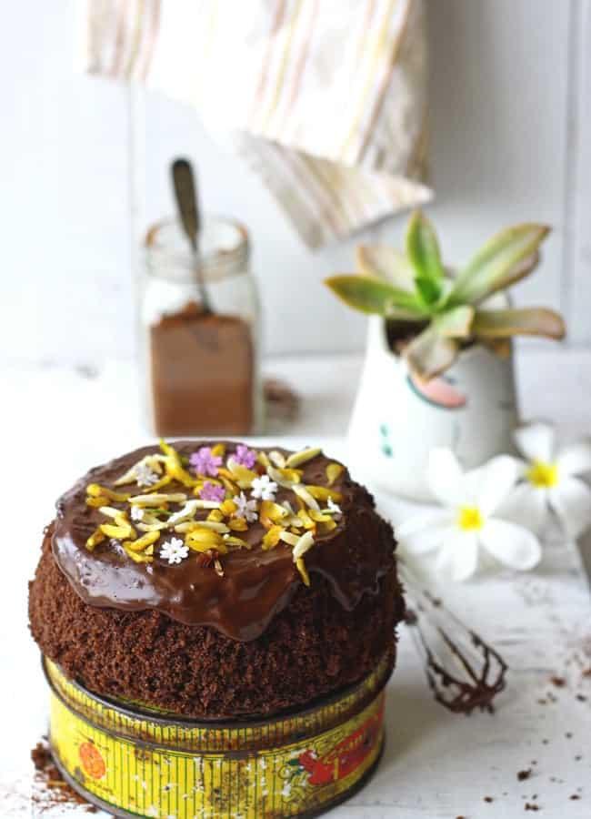 Easy microwave chocolate cake recipe