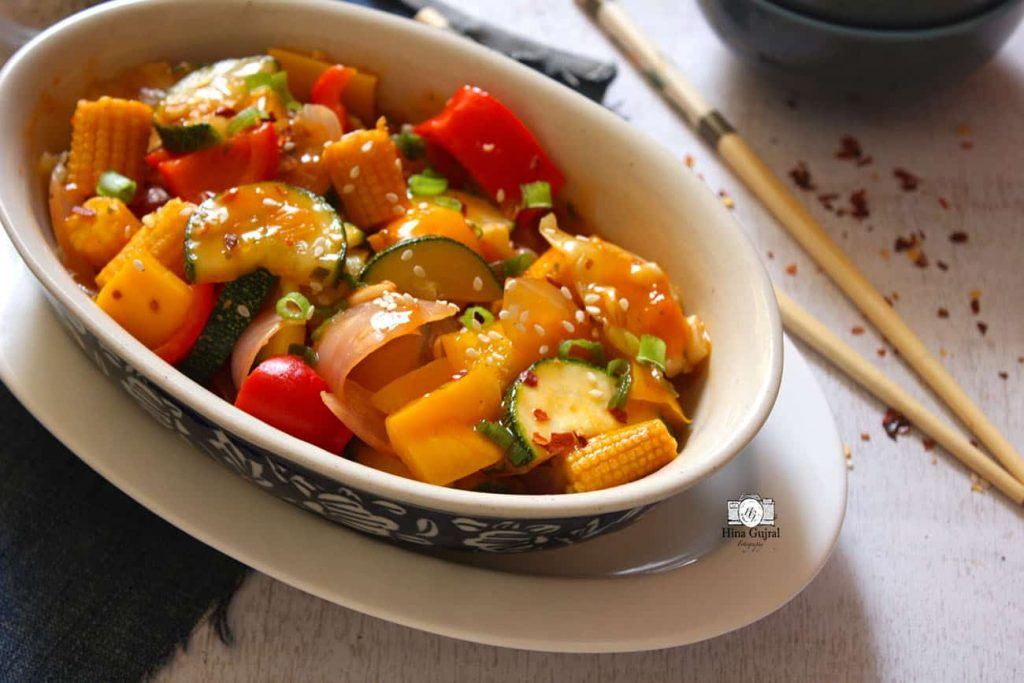 Thai Stir Fried Vegetable Recipe