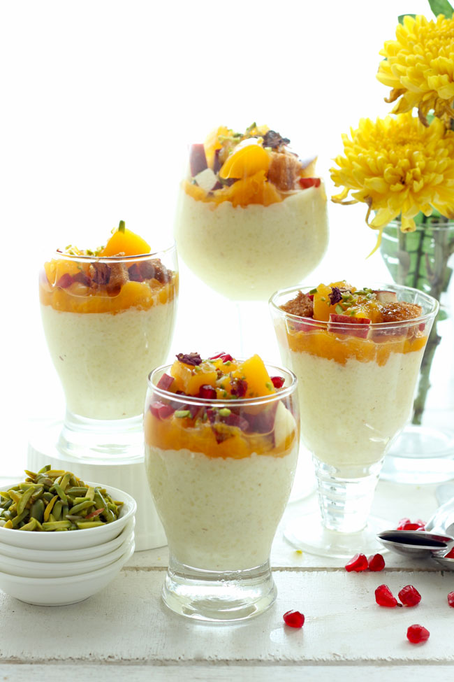 Makhana Phirni is a creamy Indian style foxnut milk pudding.