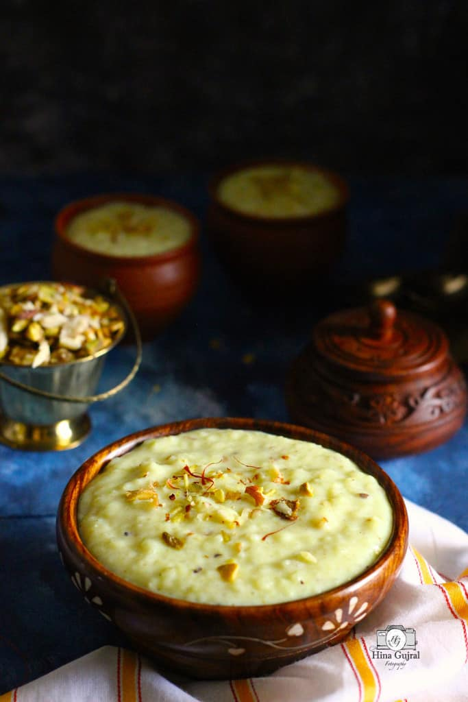 Rice Phirni Recipe