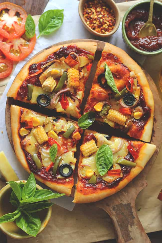 has bowled over the whole earth alongside bready Classic Vegetable Cheese Pizza