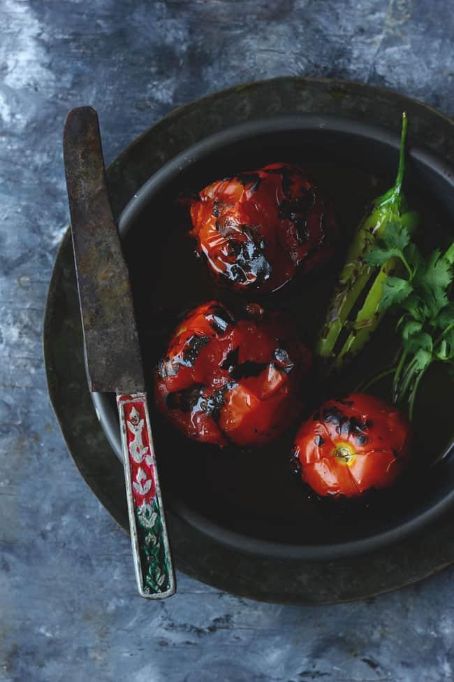 Bhune Tamatar Ki Chutney is a flavorsome summer affair from Uttar Pradesh, India. Find how to make perfect bhune tamatar ki chutney