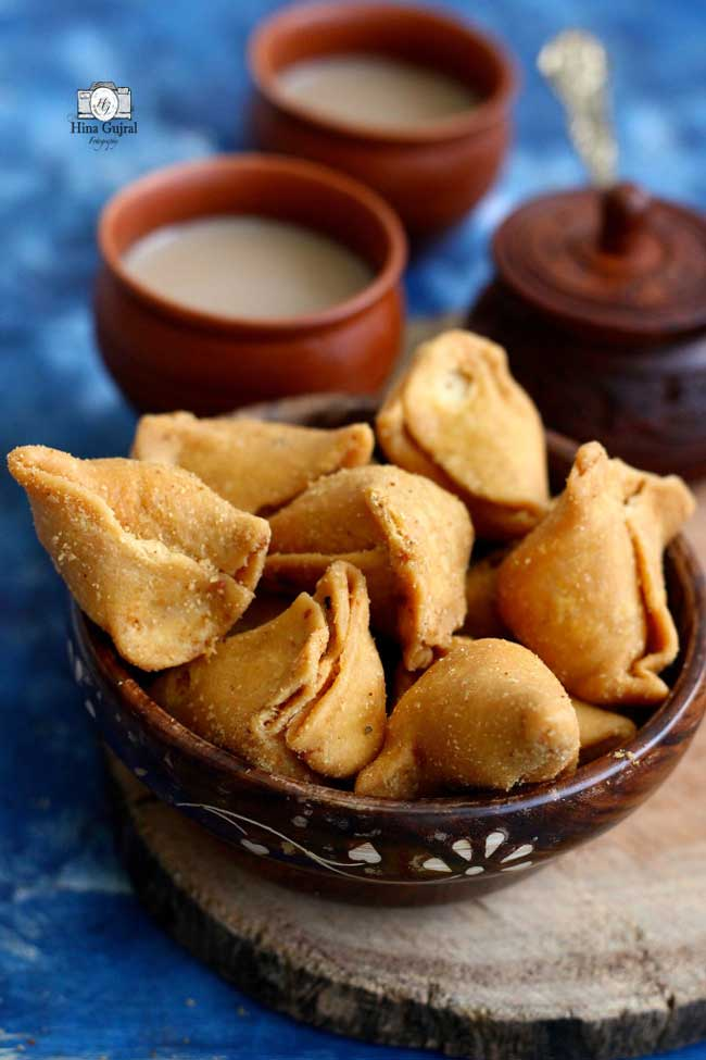Moong Dal Mini Samosa