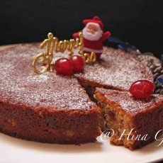 Traditional Christmas Fruit & Rum Cake Recipe