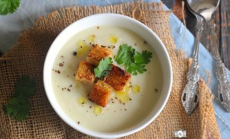Cream of Garlic Soup Recipe