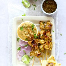 Indian Style Chicken Satay