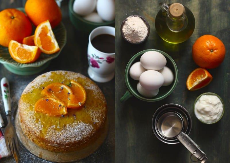 Tea-Time Orange Cake