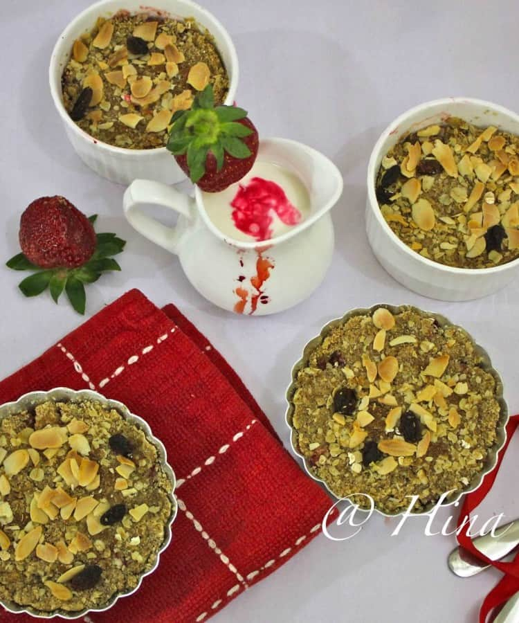 Strawberry and Apple Crumble Recipe