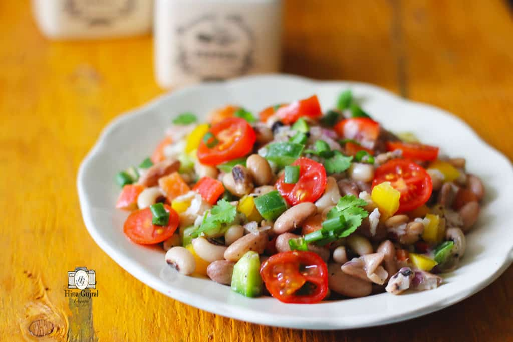 Here is the recipe of how to make Mixed Beans Salad :