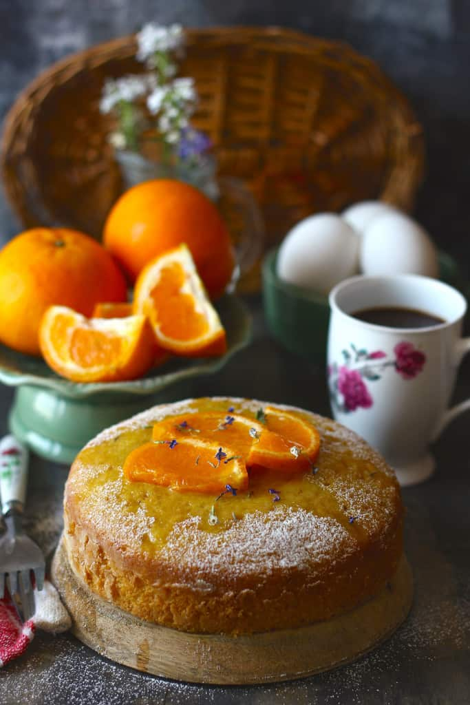 Tea-Time Orange Cake is an easy, simple, fruity cake recipe. We are surely in love with this recipe.