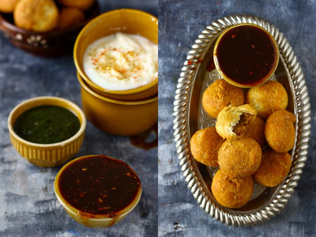 Whole Wheat Khasta Kachori is filled with moong dal namkeen mixture and remains fresh for more than a week or so. Try this crisp, flaky snack at home and you will surely love it.