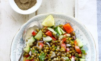 Lentil salad is probably the best way to eat lentils except making curry out of them. Find how to make gluten free lentil salad recipe
