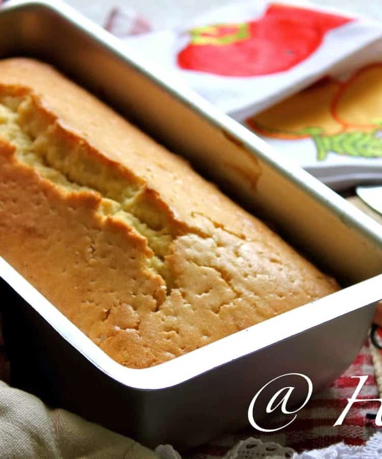 Quick and Easy Lemon Pound Cake Recipe
