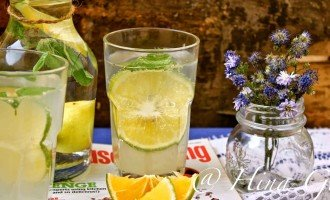 Lime and Virgin Mojito