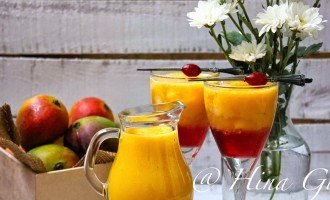Mango and Cranberry is a match made in heaven. Find out how to make perfect Mango Cranberry Mock O Lada in few simple steps