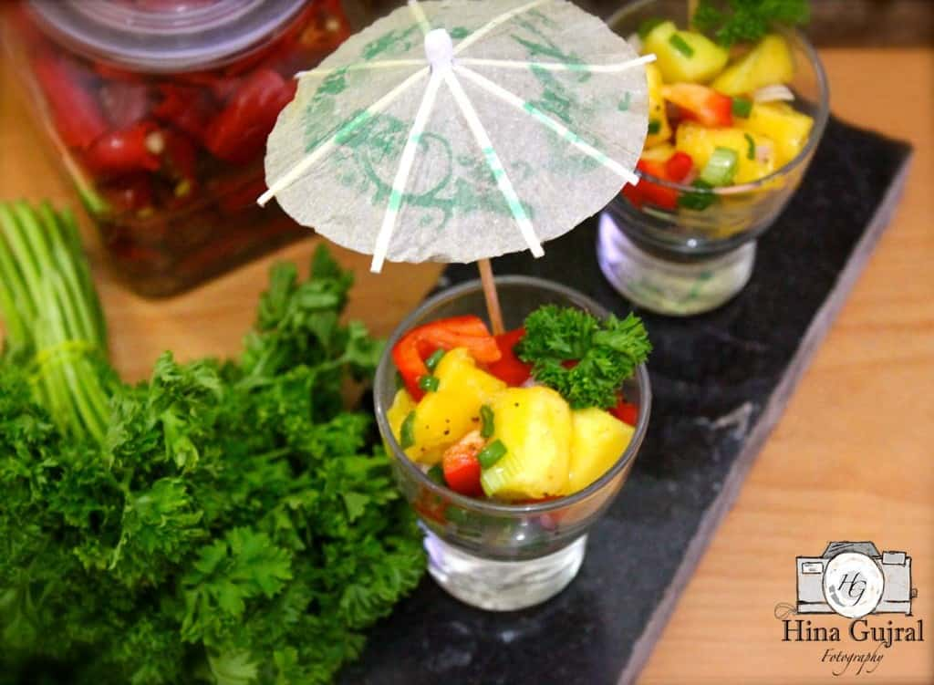 Mango and Red Pepper Salsa