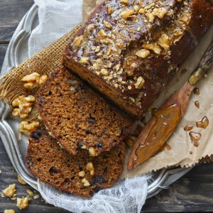 Date Nut Bread is a quick date loaf packed with the goodness of walnuts.
