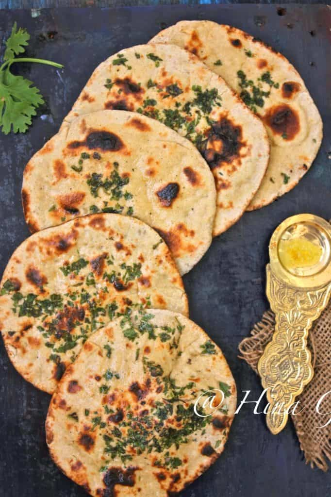 Whole Wheat Kulcha