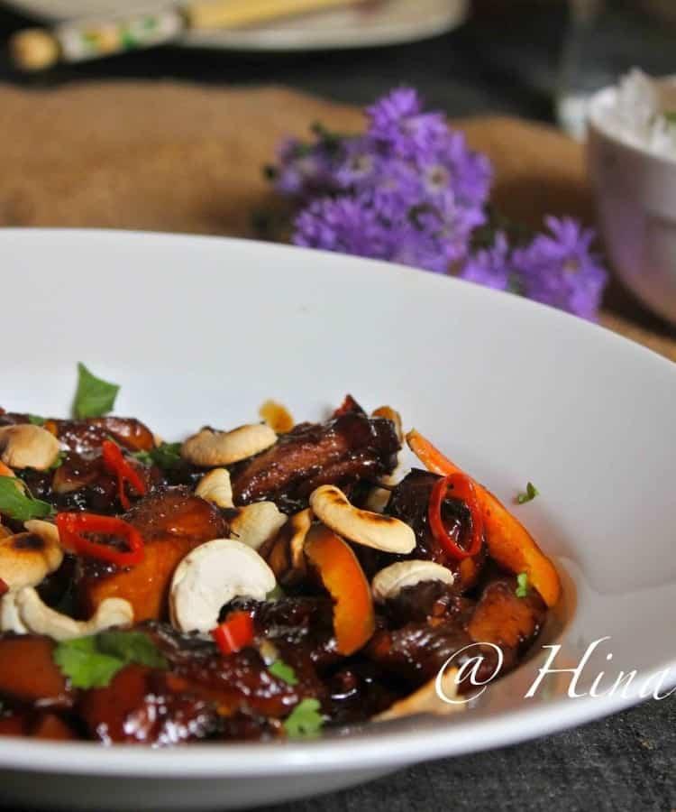 Thai Chicken Cashew