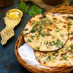 Whole Wheat Mint and Onion Kulcha