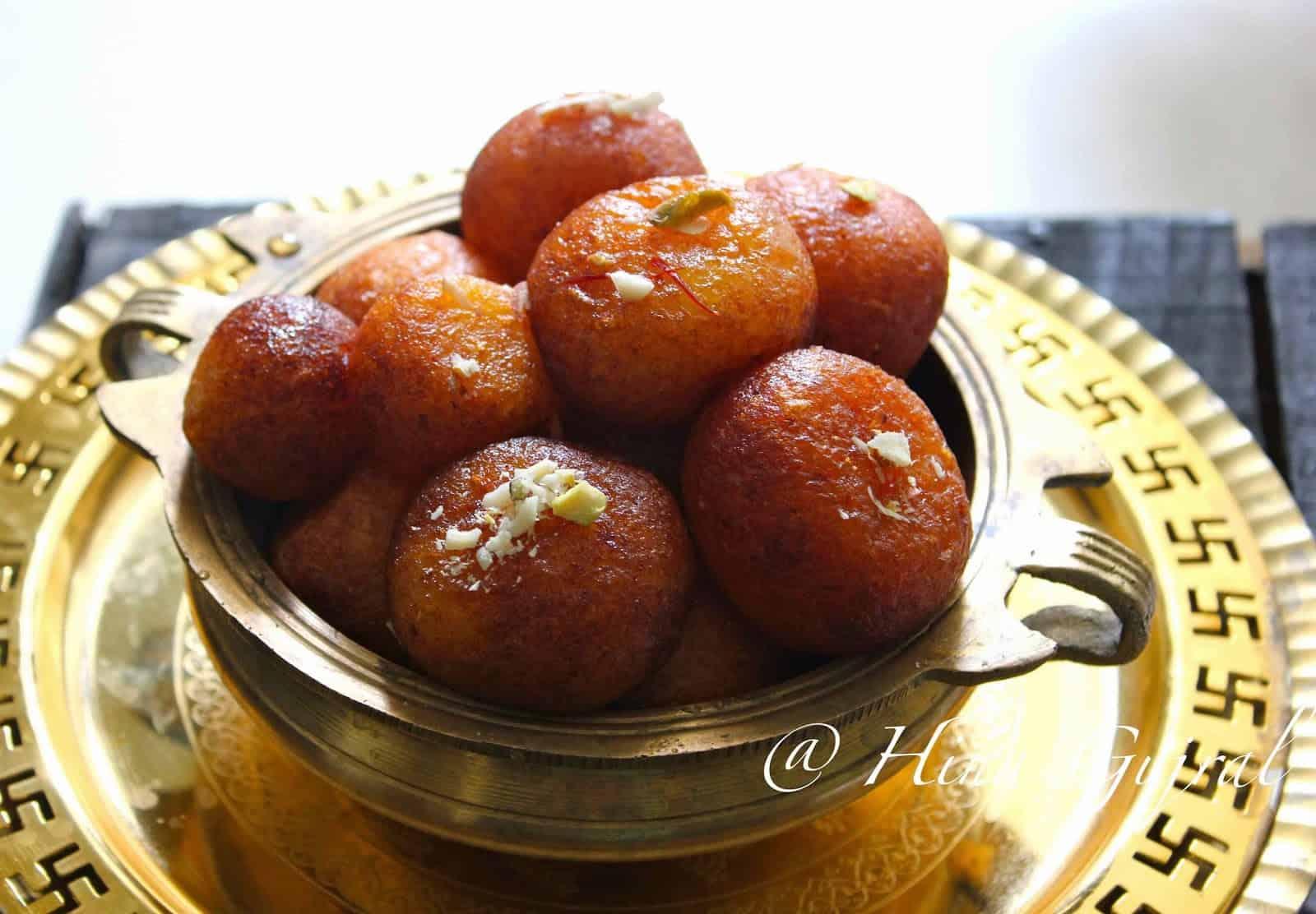 Gulab jamun recipe fun food and frolic gulab jamun recipe forumfinder Gallery
