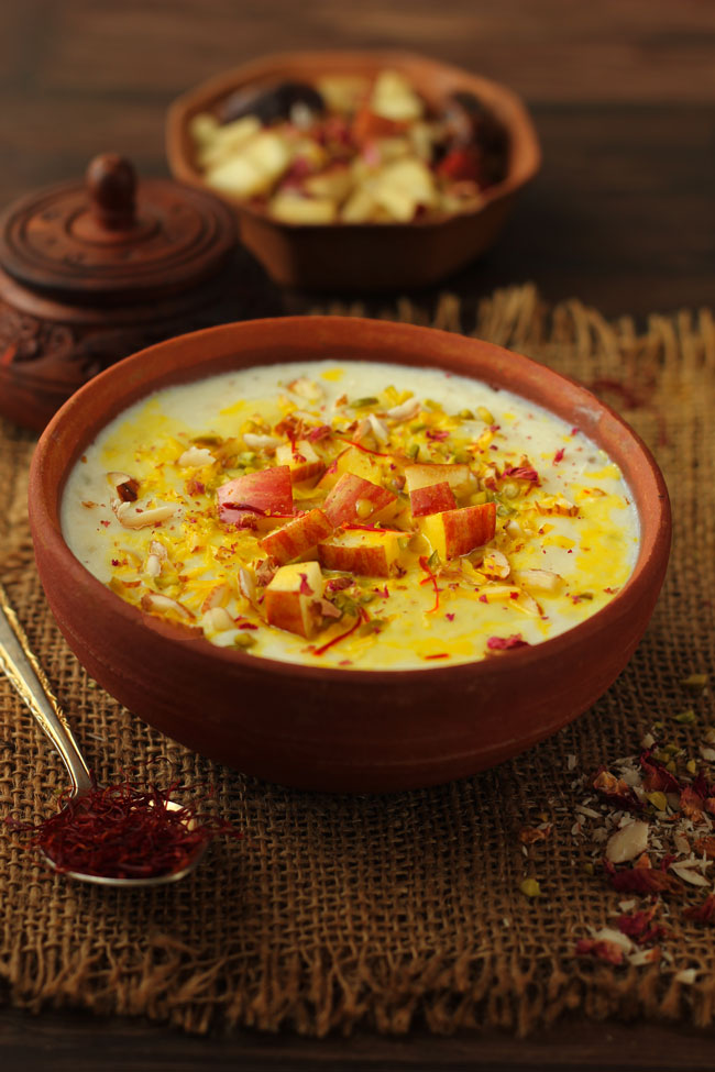 Apple Kheer Recipe