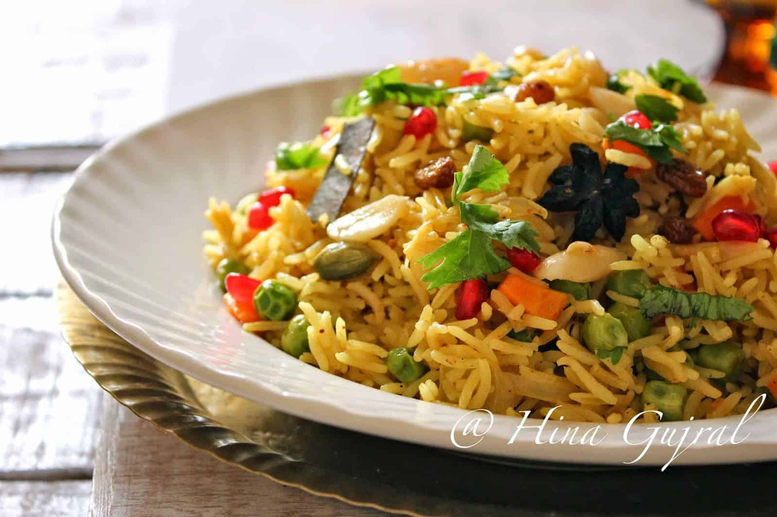 Mediterranenan Brown Rice Pilaf