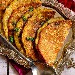 Corn Besan Cheela (Corn and Gram Flour Savory Pancakes)