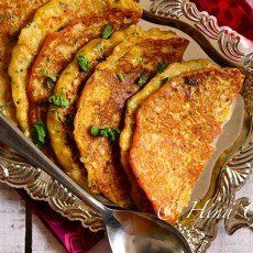 Corn and Besan Cheela