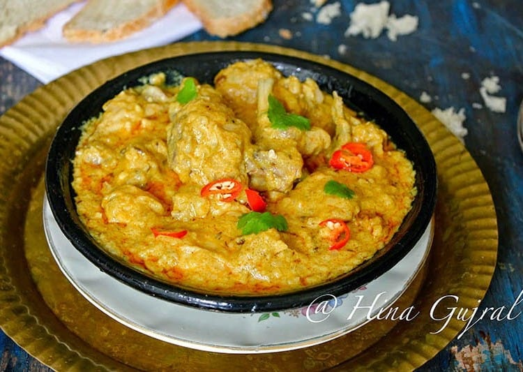 Dum Ka Murgh is a gluten-free, slow cooked chicken in cashew nut gravy. Find delicious, tried and easy recipe of Dum Ka Murgh