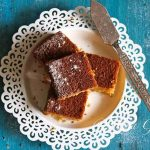 Garam Masala Spiced Gingerbread Cake is my adaption of classic Gingerbread Cake with a hint of very Indian Garam Masala and sweetened with Nolen/Kajur Gur