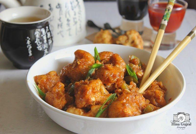 Gobi (Cauliflower) Manchurian another vegetarian variant of popular Indian-Chinese Chicken Manchurian