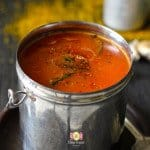 Tomato and Garlic Rasam Recipe