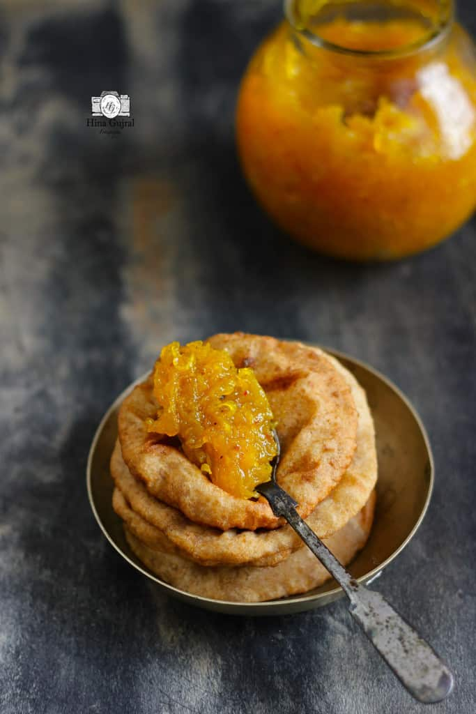 Sweet Raw Mango Chutney or Aam ka Chunda is a classic conventional grated raw mango condiment. Find how to make sweet raw mango chutney