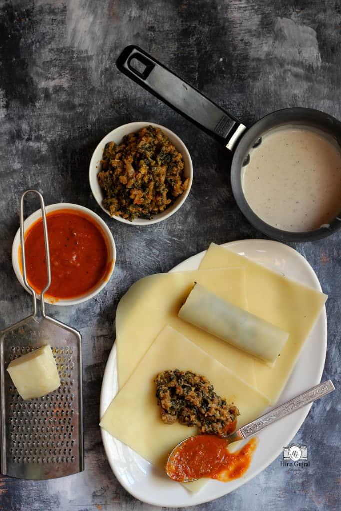 Keema_Spinach_Lasagna_Recipe